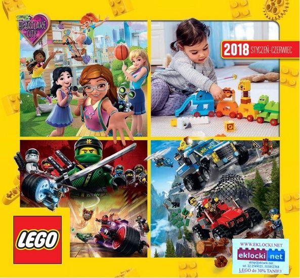 Katalog Lego 2018 Dostępny W Sklepie Eklockinet