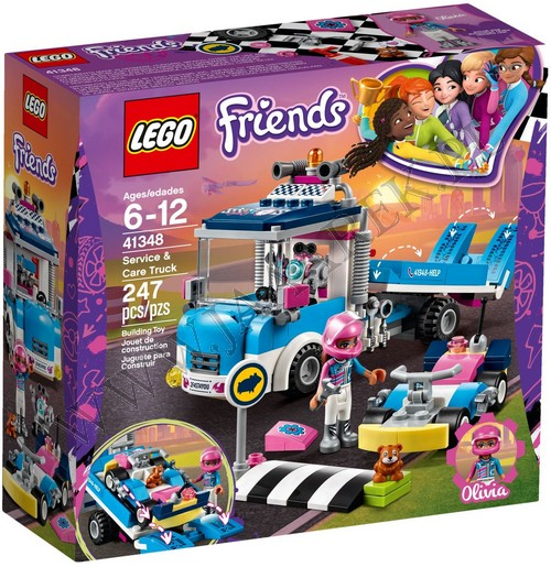 Klocki Lego 41348 Furgonetka Usługowa Friends