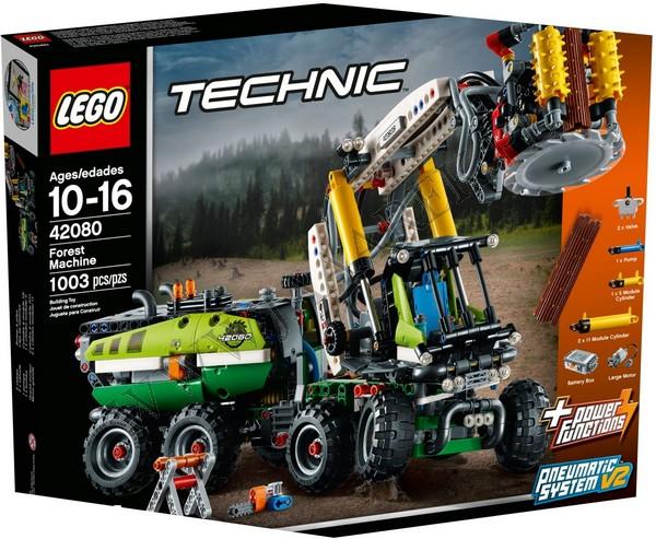 Klocki Lego 42080 Maszyna Leśna Technic