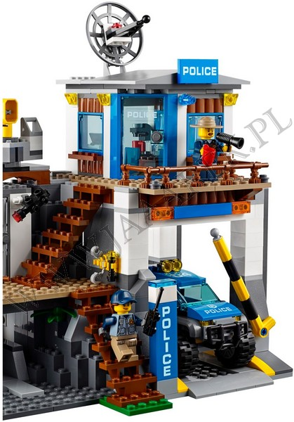 Klocki Lego 60174 Górski Posterunek Policji City