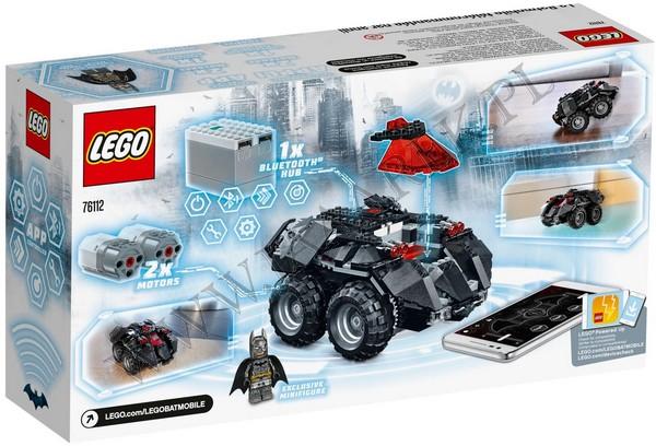 Klocki Lego 76112 Zdalnie Sterowany Batmobil Super Heroes