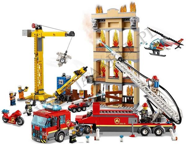 Klocki Lego 60216 Straż Pożarna W śródmieściu City