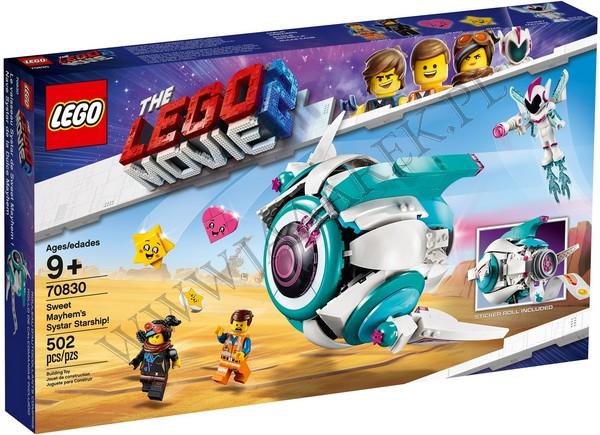 Klocki Lego 70830 Gwiezdny Statek Słodkiej Zadymy Lego Movie 2