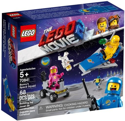 Klocki Lego 70841 Kosmiczna Drużyna Benka Lego Movie 2