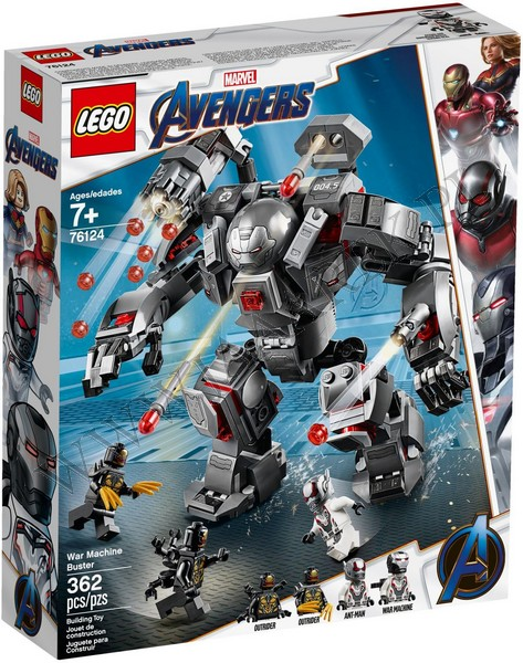 Klocki Lego 76124 Pogromca War Machine Super Heroes