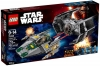 Klocki LEGO 75150 - TIE Advanced Vadera kontra A-Wing STAR WARS