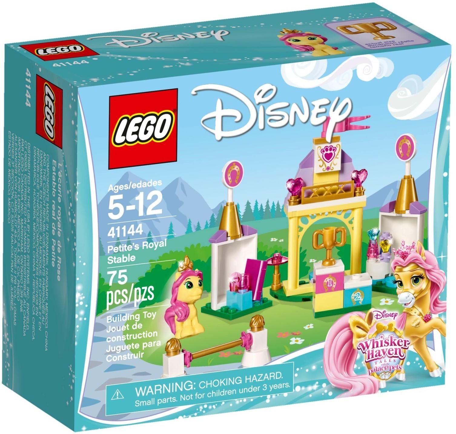 Klocki Lego 41144 Królewska Stajnia Fuksji Disney Princess